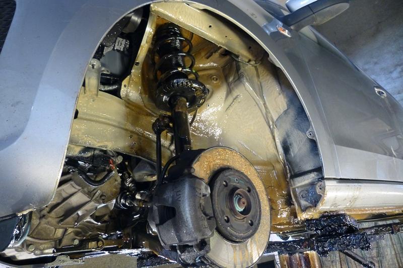 VW Up Fluid Film rustbeskyttet